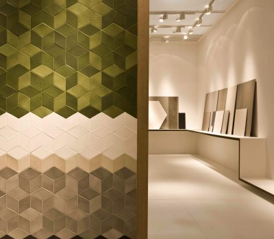 Tex by Mutina + Raw Edges Olive, White, Cream, Brown