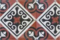 Encaustic Cement Tile Tangier Red