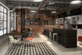 Terrazzo by Apavisa Black Decor/ White