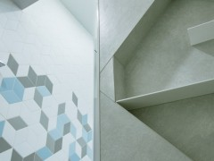 Tex by Raw Edges + Mutina White/ Grey/ Blue Credit: The Inside Project