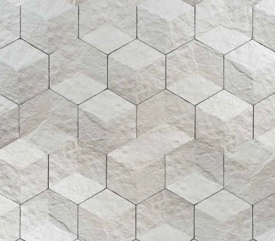 3d hexagons by petrastone giovanni barbieri rock