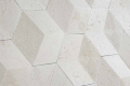 3D Hexagons by PetraStone + Giovanni Barbieri Travertine Bianco