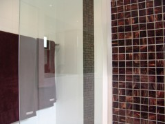 Walls - Touch White Feature - Brilliante Glass Mosaic