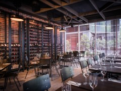 Soho Restaurant Floor - La Roche Grey by Rex Designer - Blackmilk Interior Design